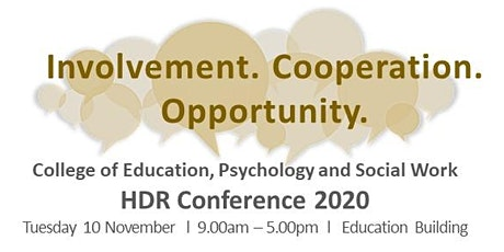 CEPSW HDR Conference 2020 tickets