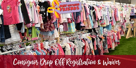 Consignor Drop Off Registration & Waiver  - JBF  PPM Fall - Late tickets