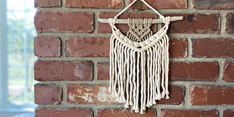 Intro to Macramé Wall Art - with Bella Ruth Co. tickets