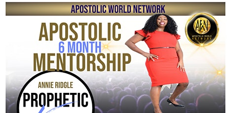 Apostolic /Prophetic 6 Month Mentorship tickets