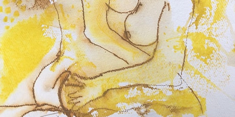 life drawing in watercolour tickets