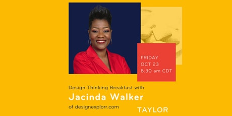 Design Thinking Breakfast with Jacinda Walker of designExplorr tickets