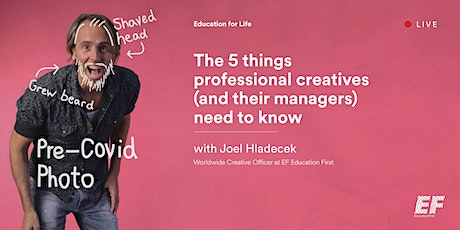 The 5 things  professional creatives  (and their managers) need to know tickets