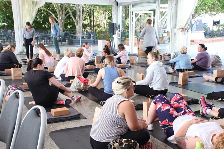 Yoga, Breakfast and Sparkling Wine image