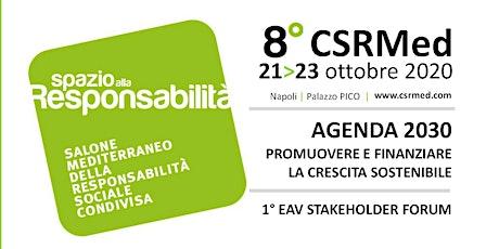 8° CSRMED | Salone Mediterraneo della Responsabilità Sociale Condivisa biglietti