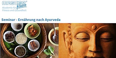 Seminar - Ernährung nach Ayurveda Tickets