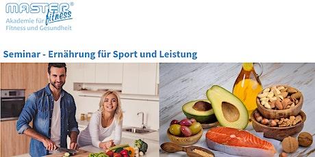 Seminar - Ernährung für Sport und Leistung Tickets