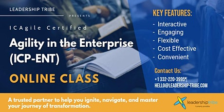 Agility in the Enterprise (ICP-ENT)   Virtual Classes - February 2021 tickets