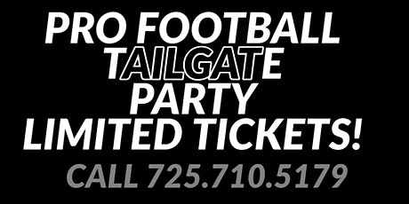 Silver & Black Tailgate Experience - Beyond The Stadium-$5,000 GIVEAWAYS! tickets