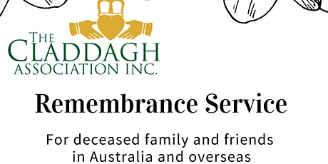 Claddagh Remembrance Service tickets
