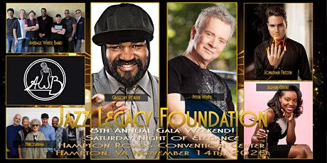 Saturday Night of Elegance - Gregory Porter | Peter White | AWB | Hiroshima | Jonathan Fritzen | Jazmin Ghent tickets