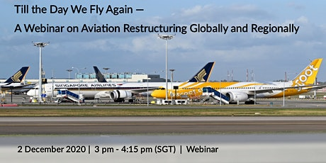 Till We Fly Again -  Aviation Restructuring Globally and Regionally tickets
