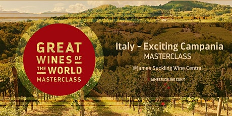 Great Wines of the World Masterclass: Italy - Exciting Campania tickets