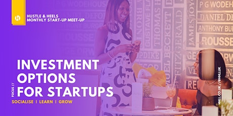 Investment Options for Start-Ups tickets