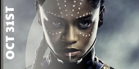 """HALLOWEEN WEEKEND """"Black Panther Themed Halloween Day Party"""" tickets"""