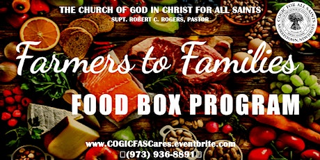 COGICFAS Cares (Food Box Distribution) tickets