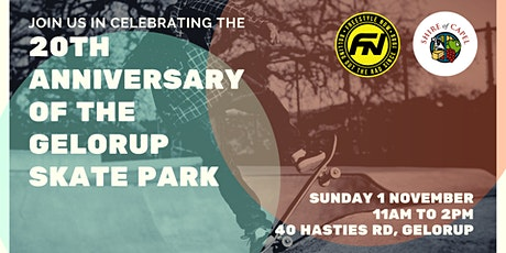 Gelorup Skatepark 20th Anniversary tickets