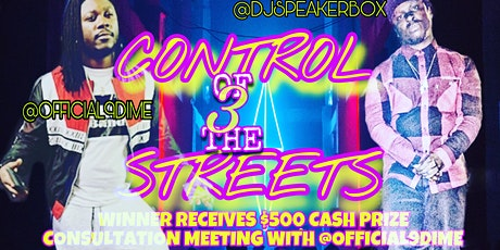 Control Of The Streets Artist Showcase tickets