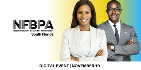 National Forum For Black Public Administrators South Florida tickets