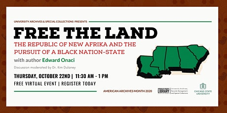Free the Land: Republic of New Afrika & Pursuit of a Black Nation State tickets
