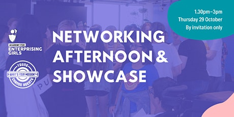 Academy for Enterprising Girls & Young Change Agents Networking & Showcase tickets
