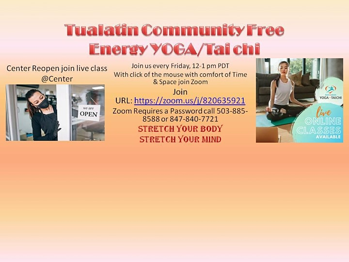Tualatin Energy Healing Center Community ENERGY YOGA image