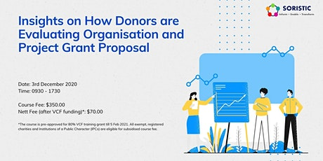 Insights on How Donors are Evaluating Organisation tickets