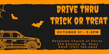 Drive Thru Trick or Treat tickets
