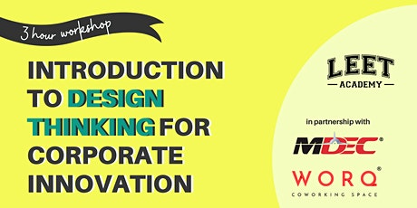 Design Thinking for Corporate Innovation tickets