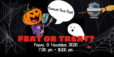 Online Public Speaking Extravaganza: Feats or Treat tickets