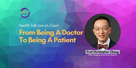 Webinar: From Being A Doctor To Being A Patient