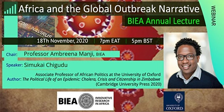 Africa and the Global Outbreak Narrative tickets