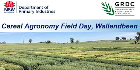 Cereal Agronomy Field Day - Wallendbeen tickets
