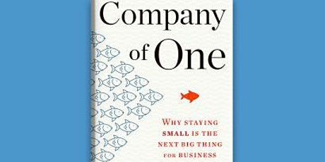 Book Review & Discussion : Company of One tickets