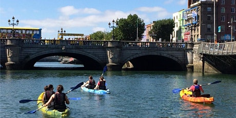 MEET UP SERIES:   City Kayaking - Exploring Dublin along the River Liffey tickets