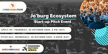 AfricArena Tour Johannesburg 2020 Event - Pitch & Panel tickets