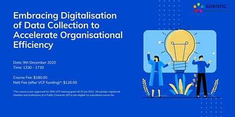 Embracing Digitalisation of Data Collection tickets