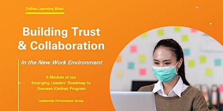 Building Trust & Collaboration (Online - Run 10) tickets