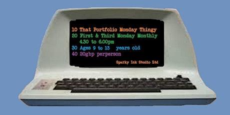 That Portfolio Monday GamesDev thingy tickets