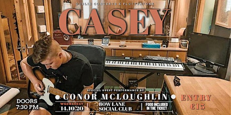 """Casey"" live at Bow Lane Social Club NEW DATE tickets"