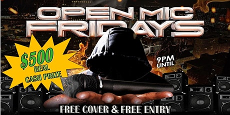 Pandemic Open Mic Fridays tickets