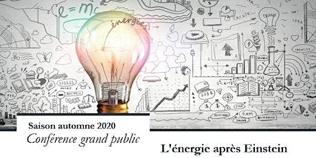 Conférence de Jean-Marc Lévy-Leblond : L'énergie après Einstein billets