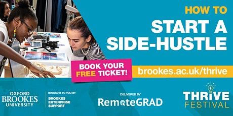 How to Start a Side-Hustle Whilst Studying with RemoteGrad tickets