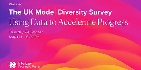 The UK Model Diversity Survey:  Using Data to Accelerate progress tickets
