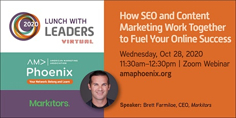 How SEO And Content Marketing Work Together to Fuel Your Online Success tickets