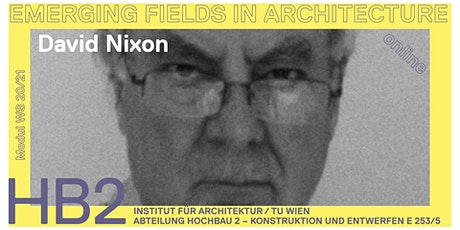 David Nixon | Architecture for Survival – Challenge of Rising Sea Levels Tickets