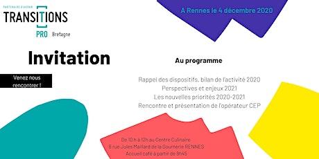 Les  Matinées de Transitions Pro Bretagne - Rennes billets