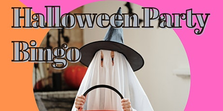 Halloween Party Bingo tickets