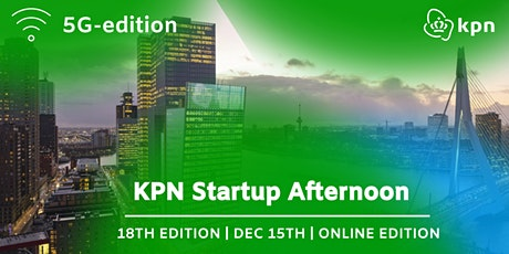 18th KPN Startup Afternoon | 5G edition tickets
