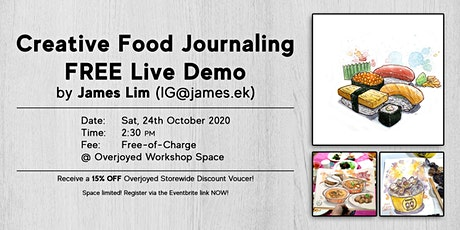 Creative Food Journaling Free Demo tickets